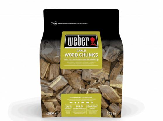 Weber® Apple Wood Chunks - 1.5kg
