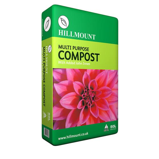Hillmount Multi Purpose Compost with John Innes 50 Litres
