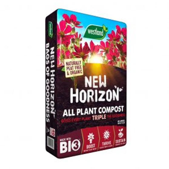 New Horizon All Plant Compost Peat Free 60L
