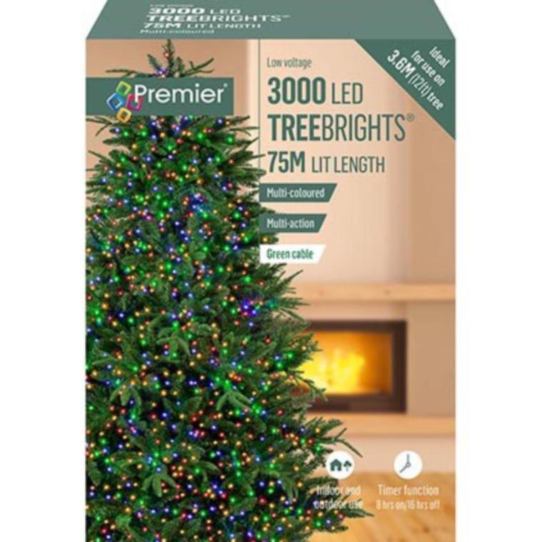 3000 M-A TREEBRIGHTS TIMER Multicolour