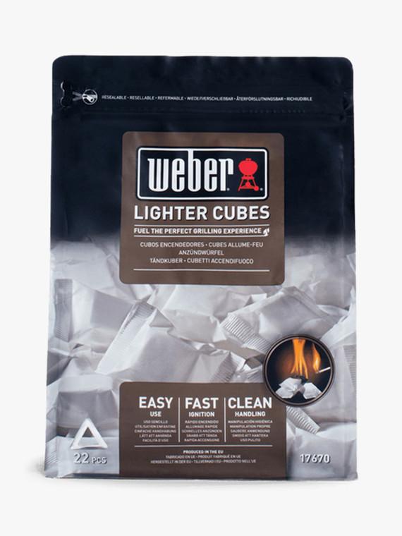 Weber Lighter Cubes - White (17945)