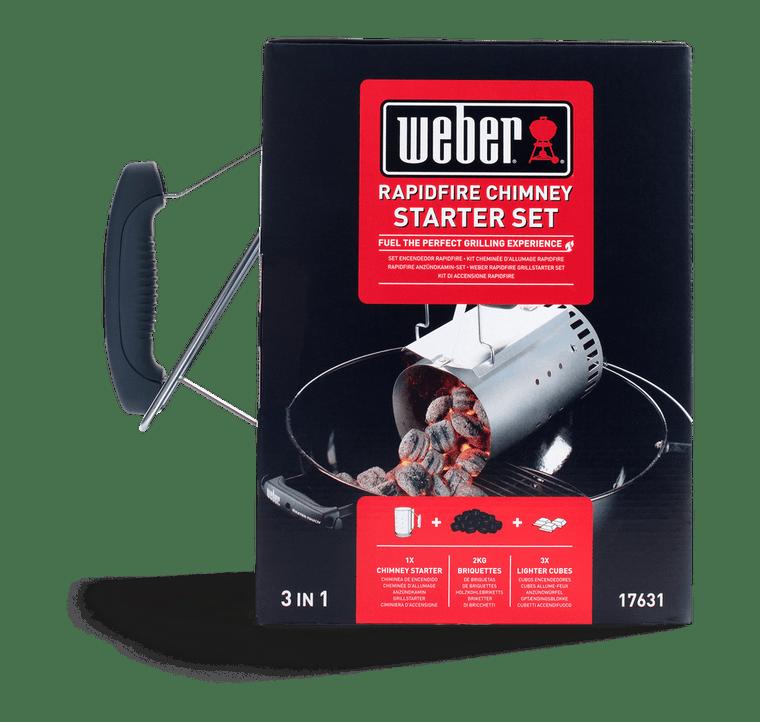 Weber Rapidfire Chimney Starter Set (17631)