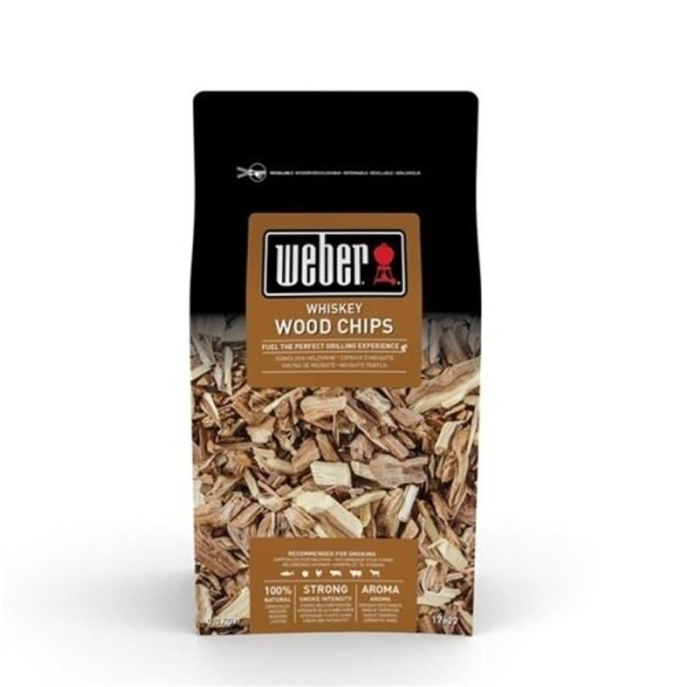 Weber® Whiskey Wood Chips - 0.7kg