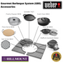 The Gourmet BBQ system means all these accessories will fit into this BBQ seamlessly!
