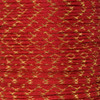 Imperial Red with Gold Metallic X - 550 Paracord - 100 Feet