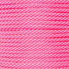 Neon Pink Candy Cane - 550 Paracord - 100ft