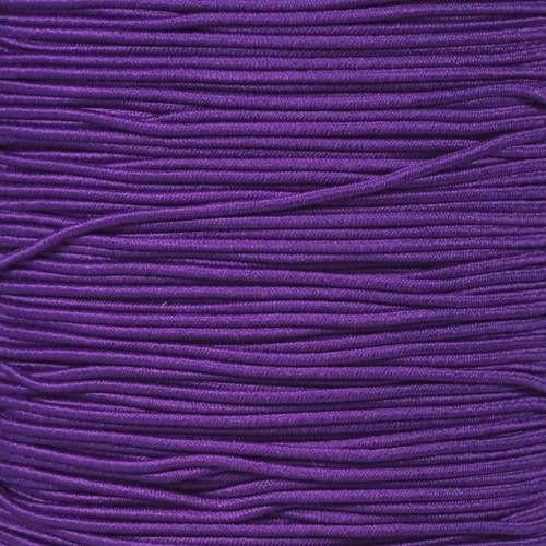 Purple - 1/16 Elastic Cord