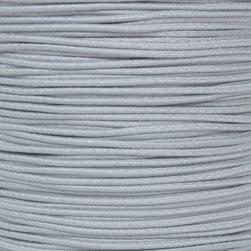 Silver Gray - 1/16 Elastic Cord