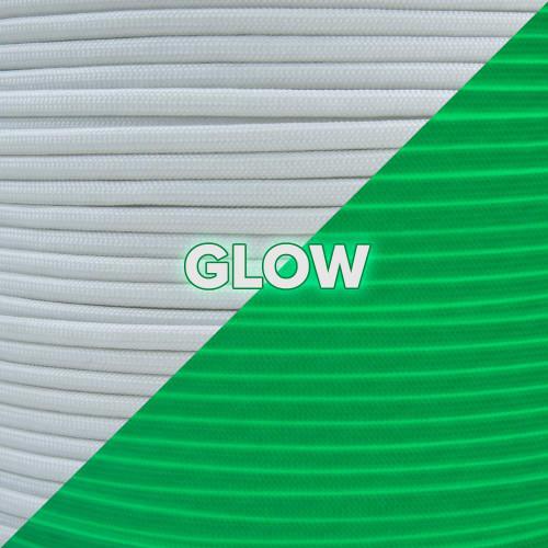 White - 400 Paracord (Para-Glow) - 100ft