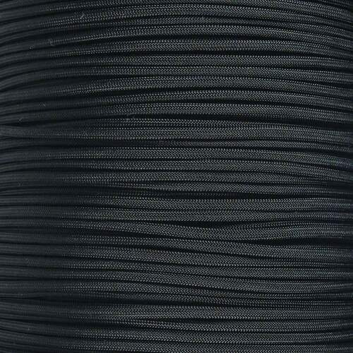 USA Made Black - 550 Paracord - 100ft