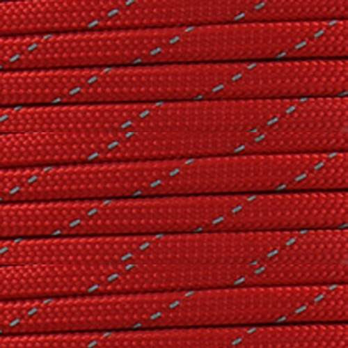 Imperial Red - 550 Paracord (Reflective) - 100ft