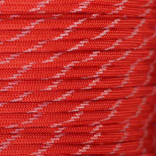 Imperial Red - 550 Paracord (Glow) - 100ft