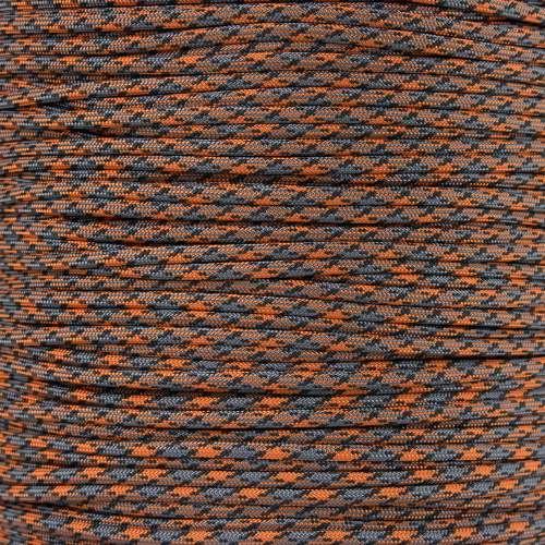 Orange and Gray Camo - 550 Paracord