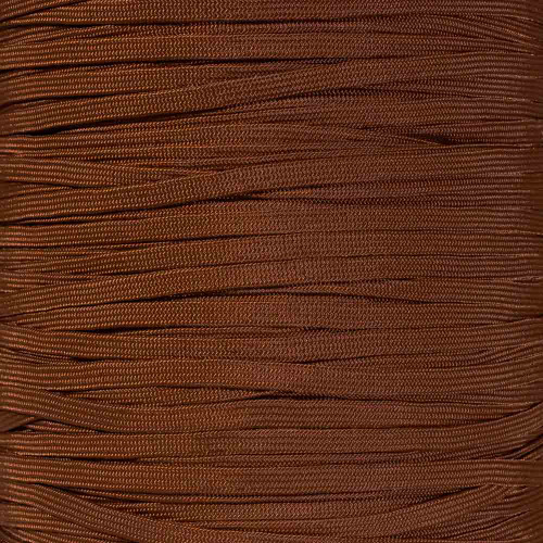 Chocolate Brown 650 Coreless Paracord - Spools