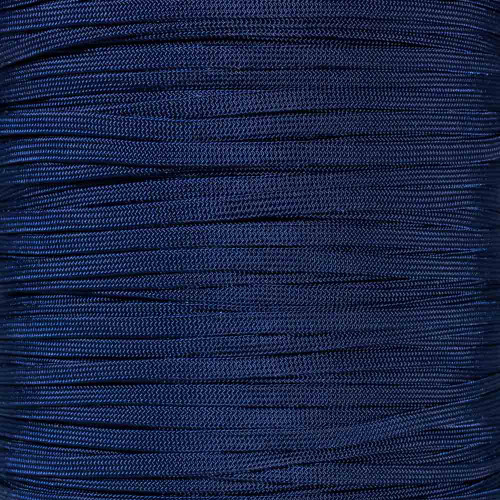 Midnight Blue 650 Coreless Paracord - Spools