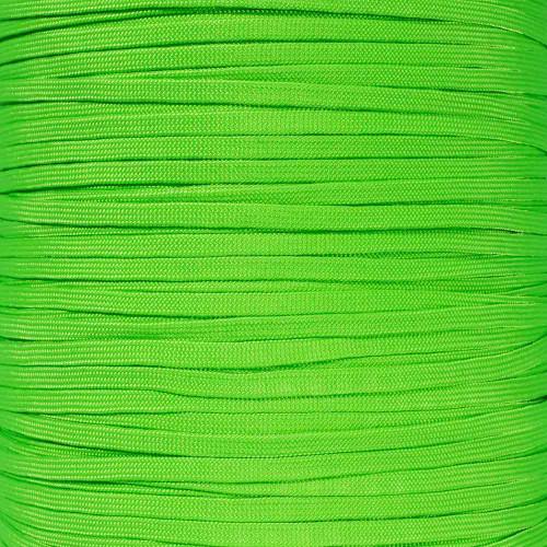 Neon Green 650 Coreless Paracord - 100 Feet