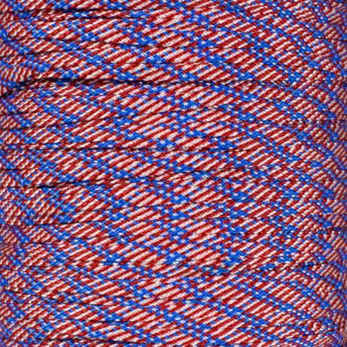 Stars and Stripes 650 Coreless Paracord - 100 Feet
