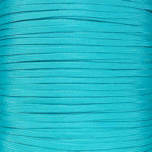 Turquoise 650 Coreless Paracord - 100 Feet