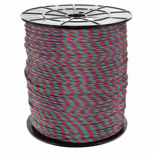 Argon - 550 Color Changing Paracord - 100ft