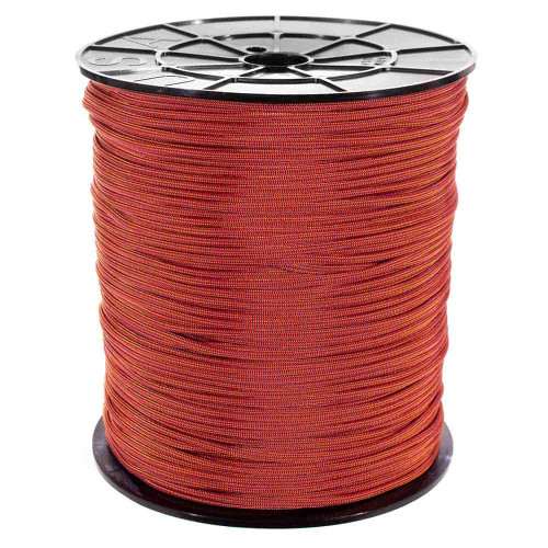 Molten Orange - 550 Color Changing Paracord - 100ft