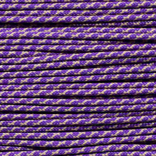 Purple & Beige - Speed Laces - 100 Feet