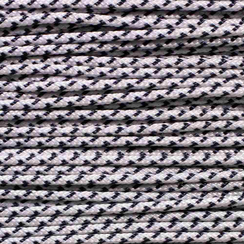 White & Navy - Speed Laces - 100 Feet