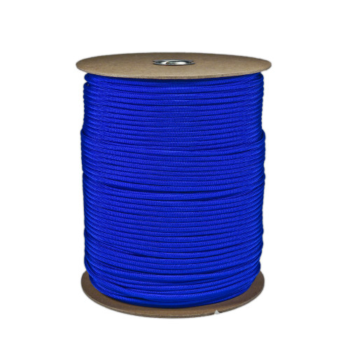 550 Paracord Spools - Electric Blue