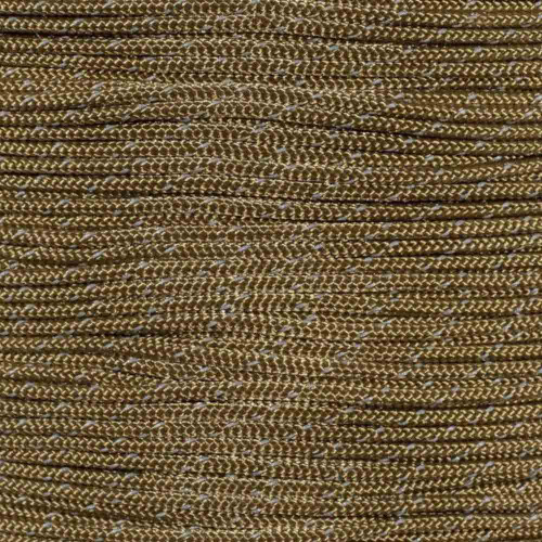 Brown - Reflective 95 Paracord - Spools