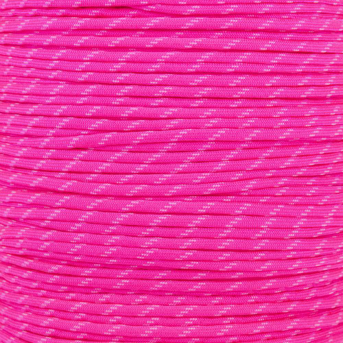 Neon Pink - 550 Paracord (Glow)