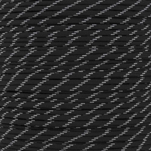 Black - 550 Paracord (Glow)