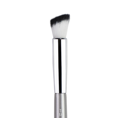 Esum T38 - Medium Round Flat Angle Brush