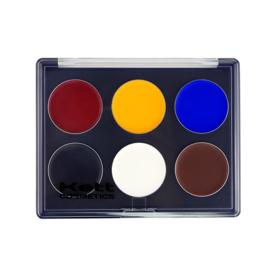 KETT FIXX CREME PALETTE COLOR THEORY - 6 SHADES