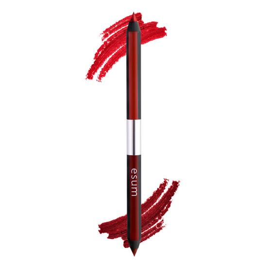 Esum Dual Lip Pencil - Red