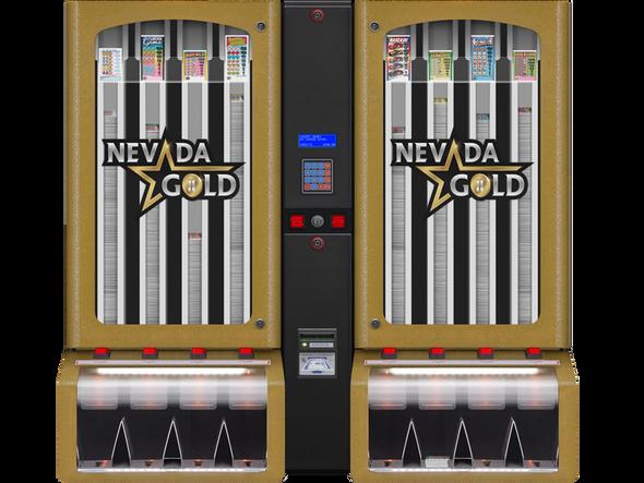 Nevada Gold 8 Column Ticket Dispenser