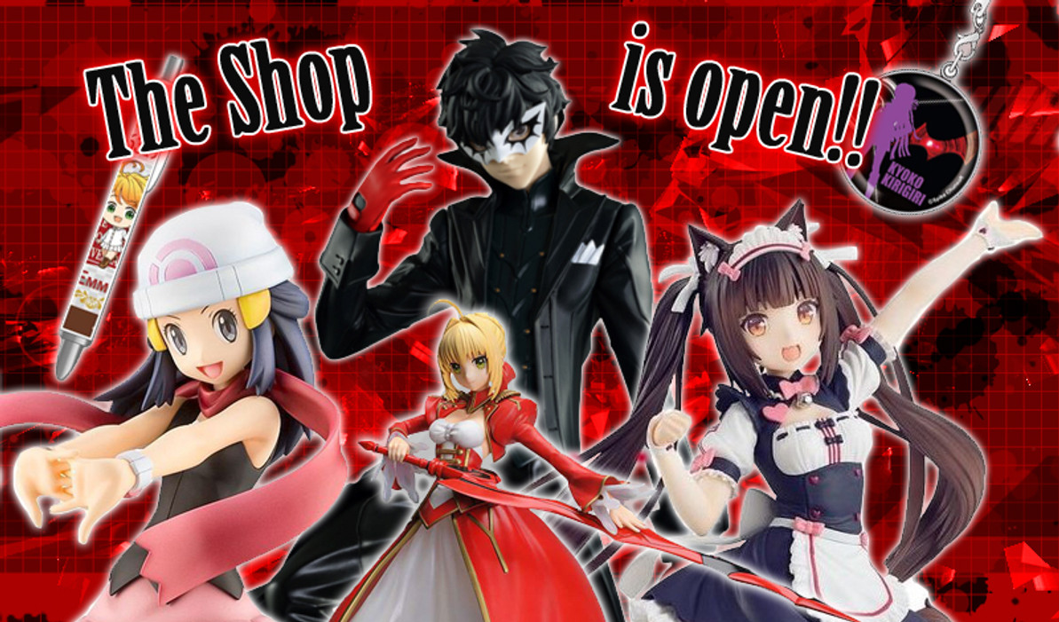 The Shop is open!