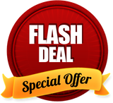 A new Flash Deal every 2 days!