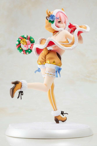 PREORDER Re:ZERO -Starting Life in Another World- PVC Statue 1/7 Ram Christmas Maid Ver. 23 cm