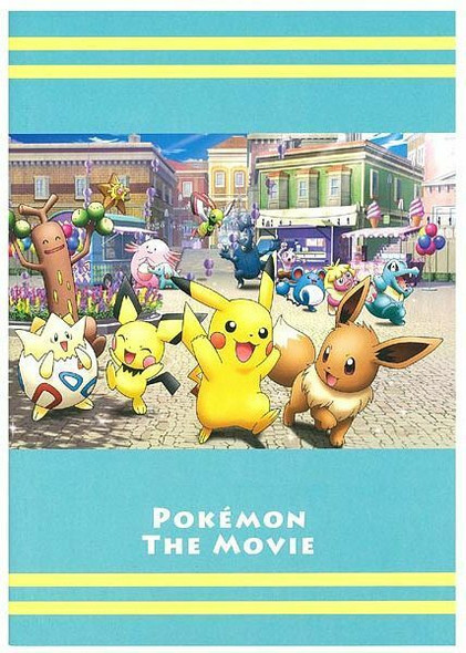 Pokemon The Movie A5 Notebook