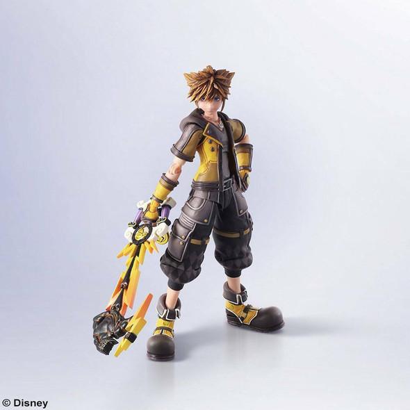 Kingdom Hearts III Bring Arts Action Figure Sora Guardian Form Version