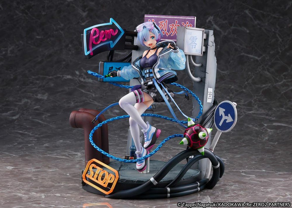 PREORDER Re: Zero Starting Life in Another World Statue 1/7 Rem Neon City Ver.