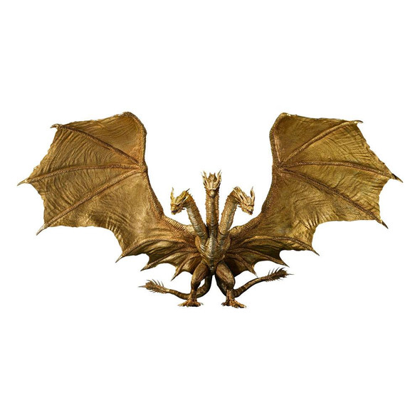PREORDER 04/2022 Godzilla: King of the Monsters S.H. MonsterArts Action Figure King Ghidorah (Special Color Ver.) 25