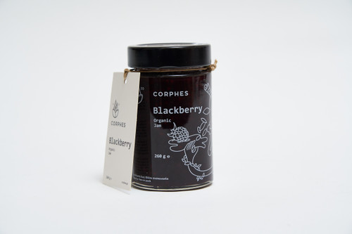 Corphes Organic Blackberry Jam