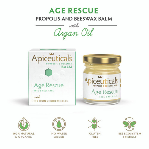 'Apiceuticals' Age Rescue Propolis & Beeswax Balm with Argan Oil