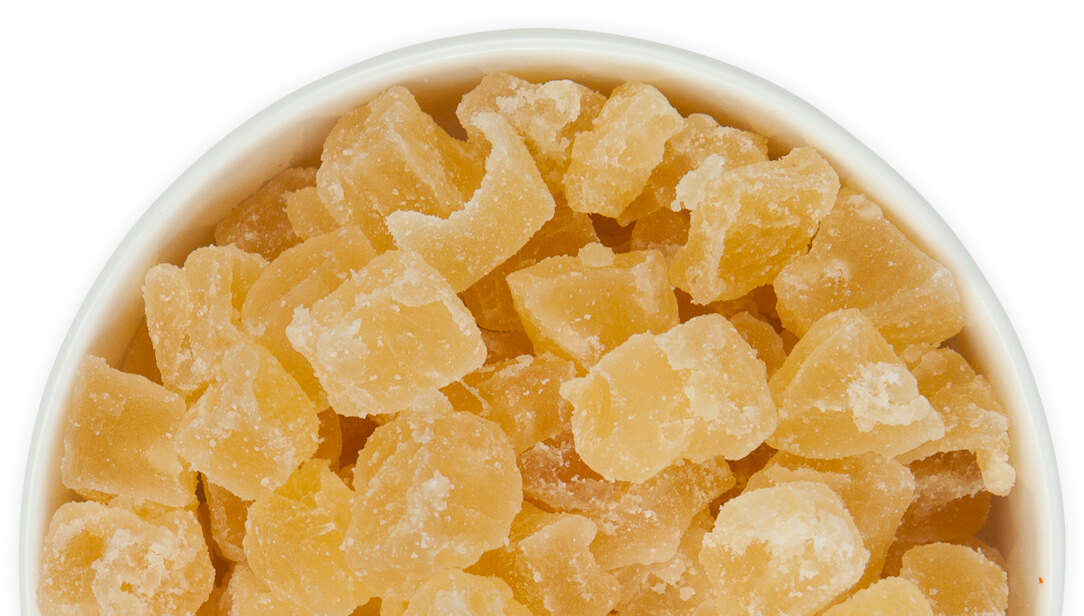 Natural Diced Dried Pineapple