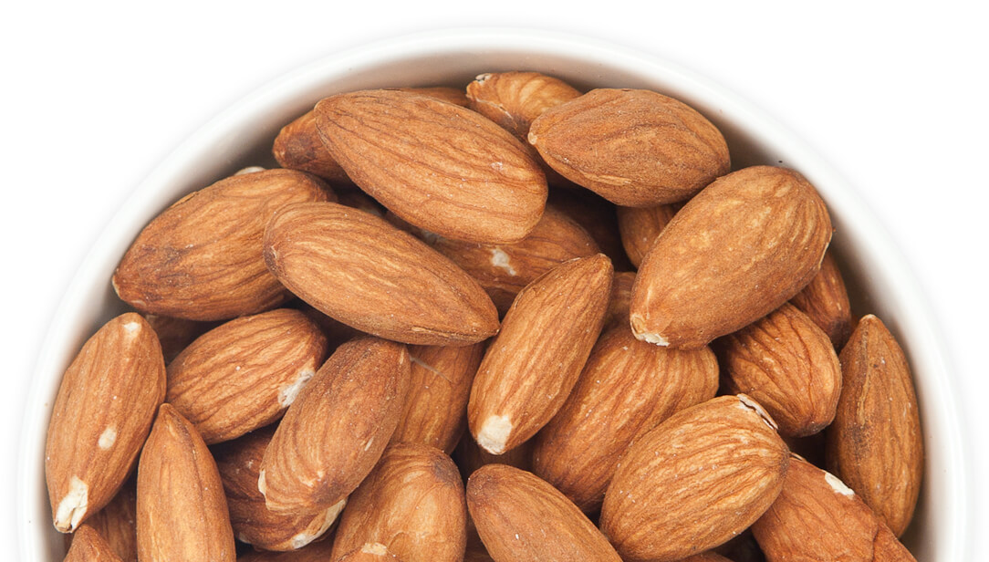 Dry Roasted Unsalted California Almonds