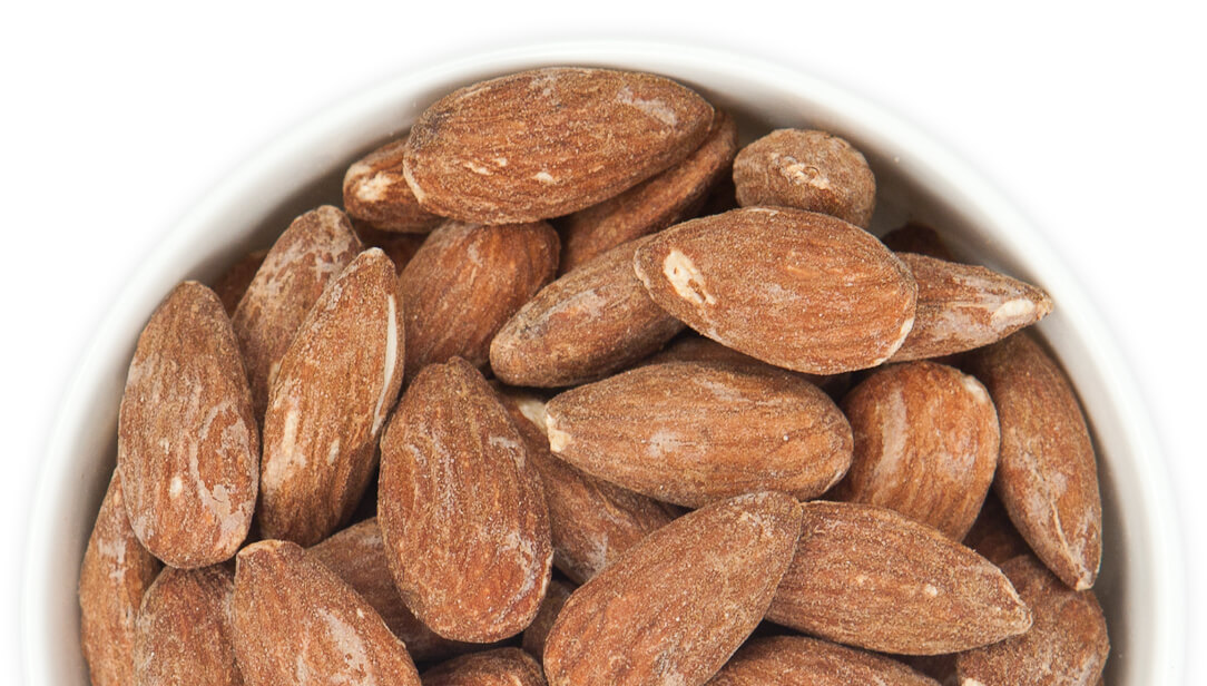 Salted Roasted California Almonds