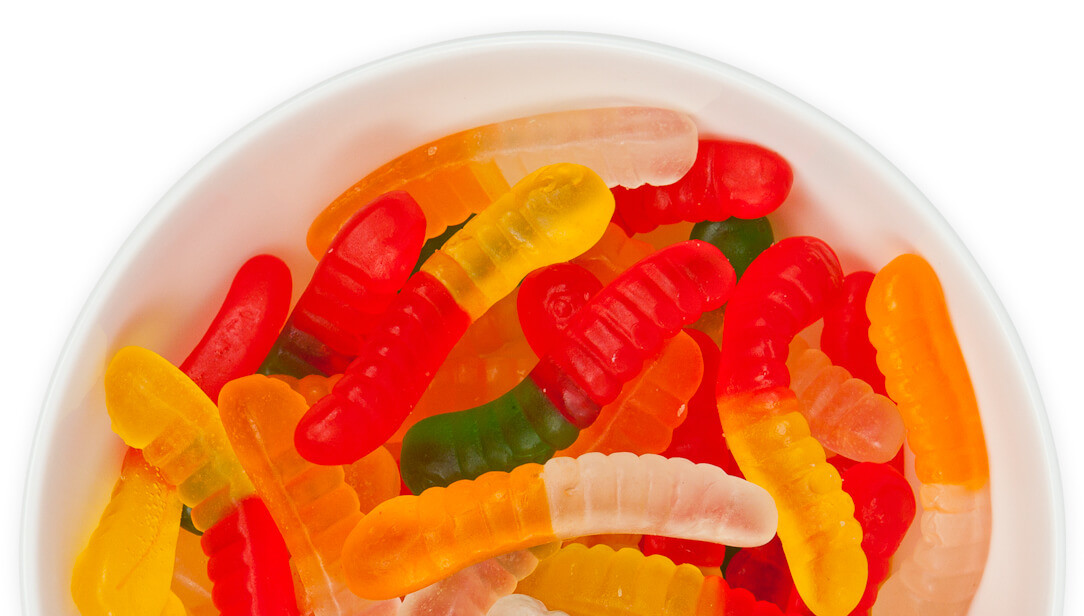 Sugar-Free Gummy Worms