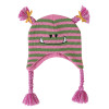 Baby Knit Hat -Pink Monster
