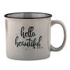 Hello Beautiful Campfire Mug
