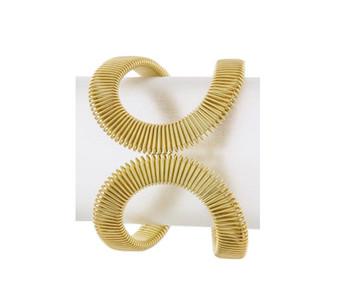 Flate Wire Wrapped Bracelet